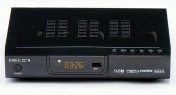 Фотография приставка приставки DVB- C