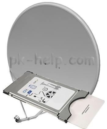 Фото Модуль CAM для подключения к телевизору с функцией DVB- S