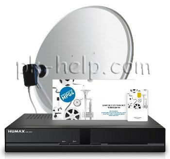 Фотграфия комлпект просмотра DVB- S