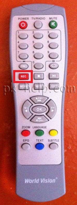 Фотография запись на флешку с приставки DVB-T2
