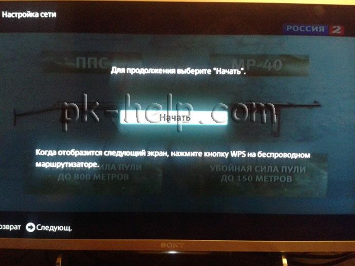 Фотография Интернет в телевизоре Сони